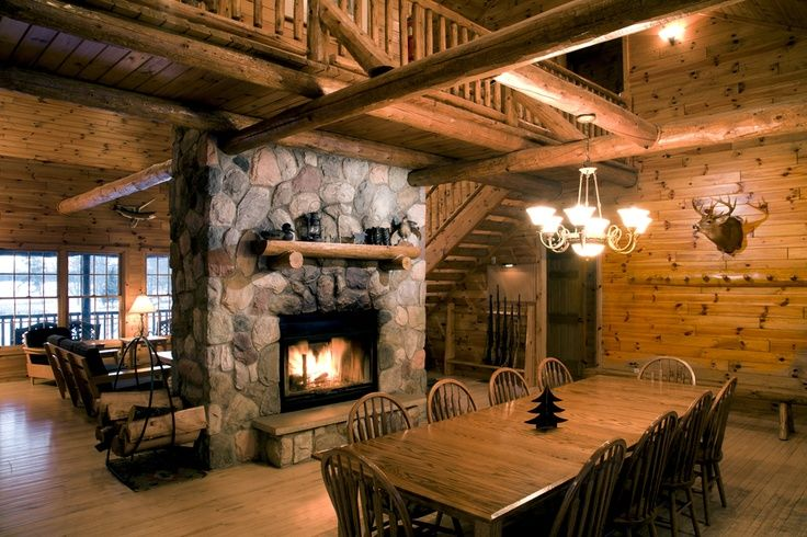 Hunting Cabin Interior Do It Yourself Hunting Cabins: Dogtrot House Interior Rustic - Google Search