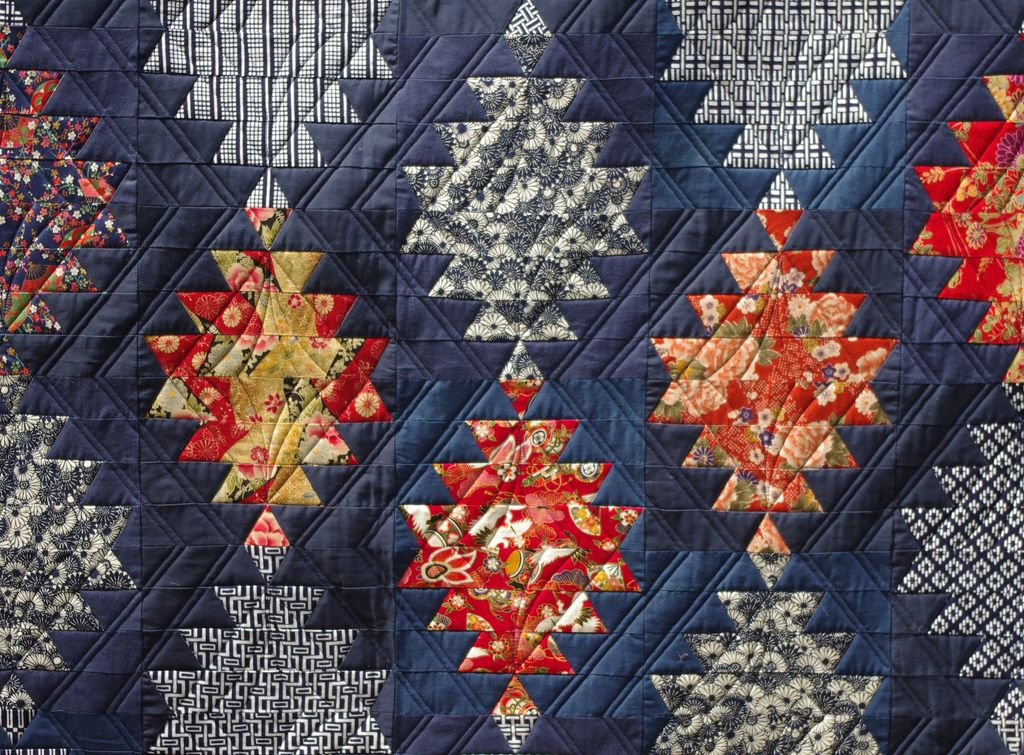 Japanese Lantern Quilt | Japanese, Patchwork and Scrap : japanese lantern quilt pattern - Adamdwight.com