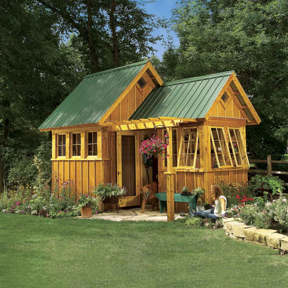 Reader Project Ultimate Garden Shed Diy Shed Plans Building A Shed Roof Shed Plans
