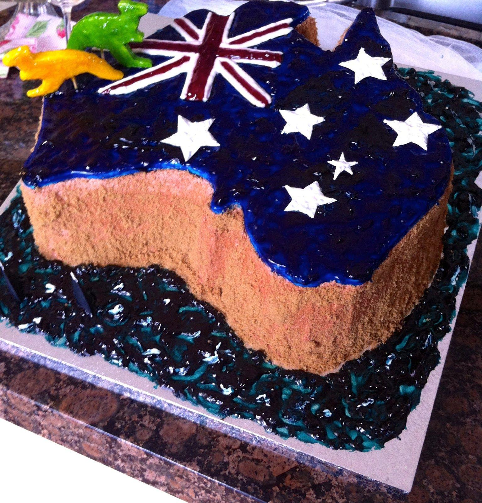 Magnolia Verandah This Cake Took The On Australia Day