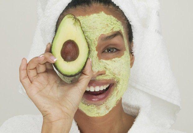 avocado maske til ansigt
