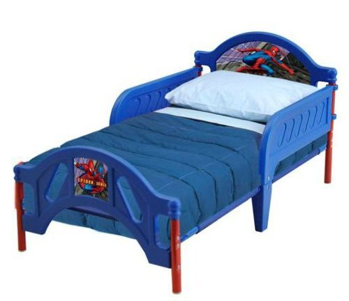 New Marvel Spiderman Toddler Bed & Rails Big Boy Bed Christmas Gift Kids Decor