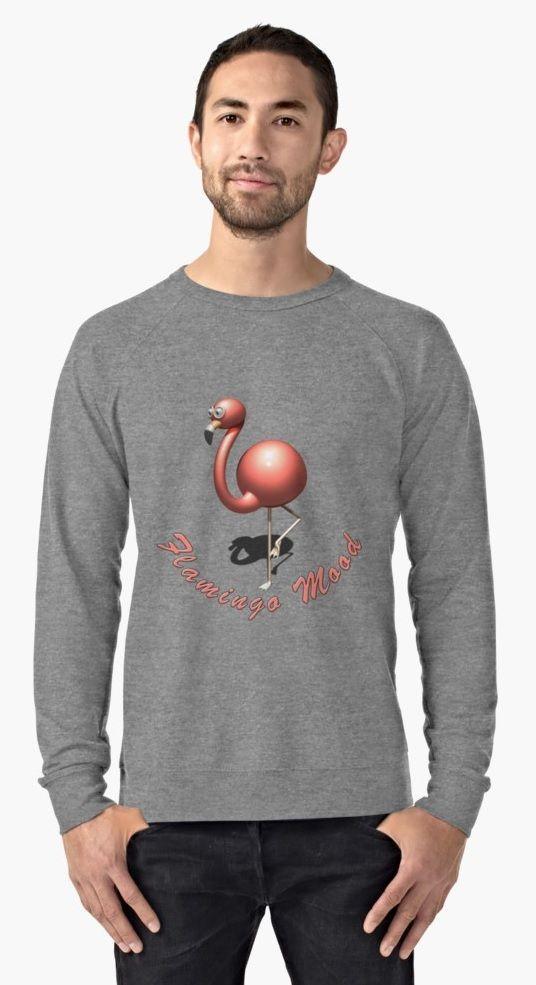 996521519 Sweatshirt Pink Flamingo Mood