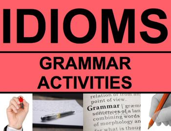 Idioms Activities - Worksheets, Powerpoint & Answer Key ...