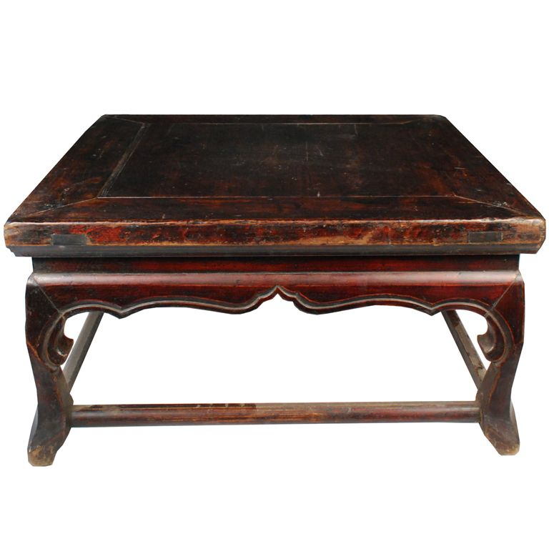 19th Century Chinese Kang Table