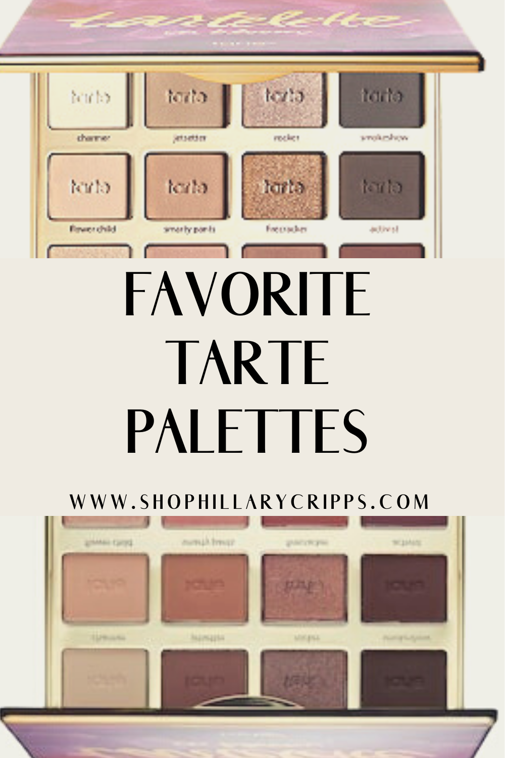 Everyone needs these Tarte palettes for the best looks ...