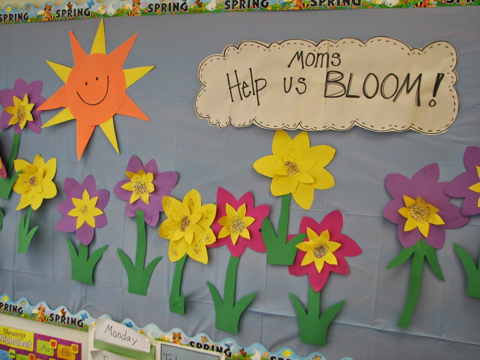 Mother S Day Classroom Decoration Ideas : Mother s day bulletin board see the rest of post for