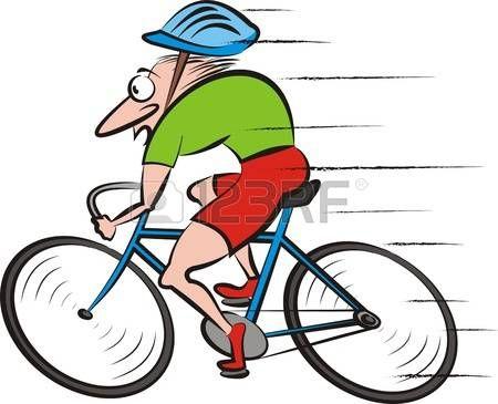 Route dessin cycliste cyckling vecteur v lo kids - Dessin cycliste ...