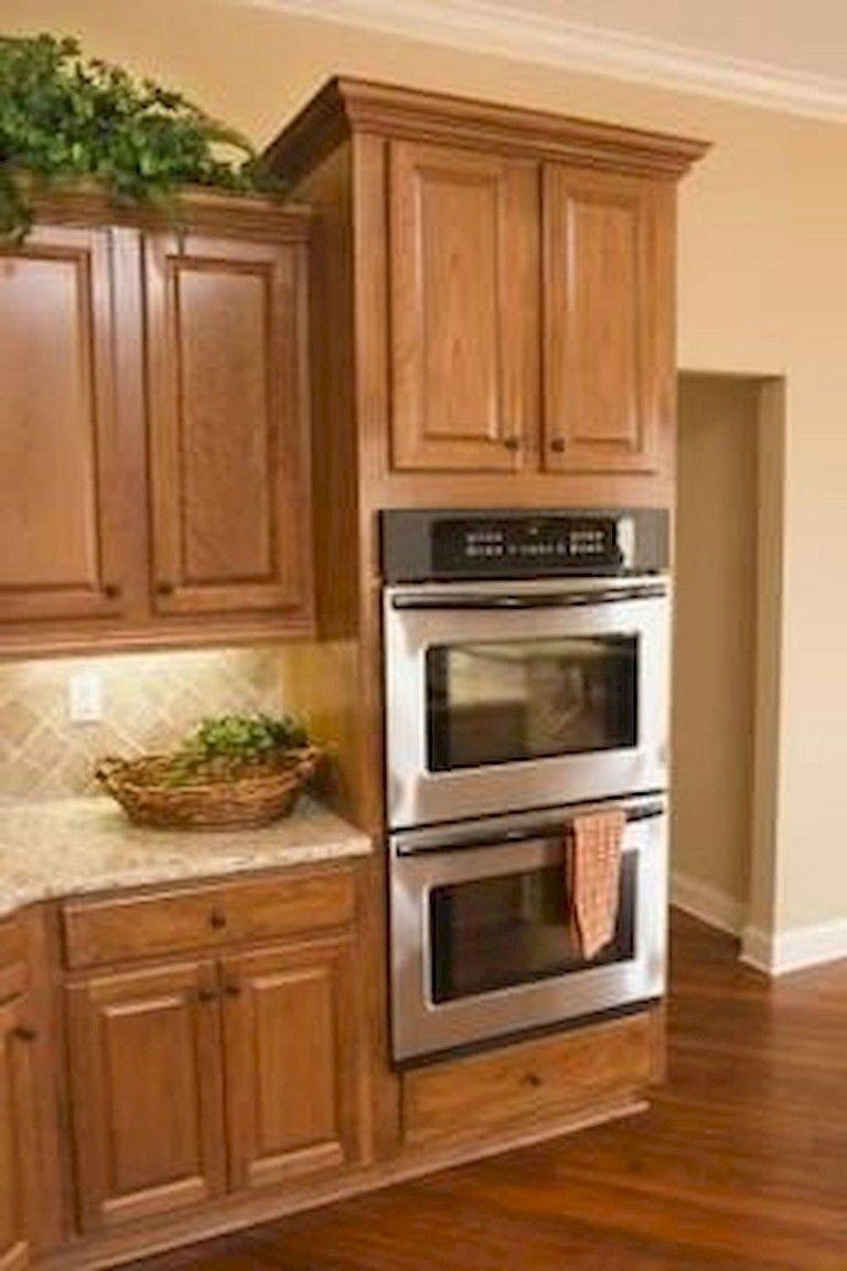 Küchenideen 2018 weiß  top oak kitchen cabinets ideas decoration for farmhouse style