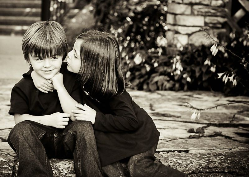 First Kiss Cool Kids Celebrities Couple Photos