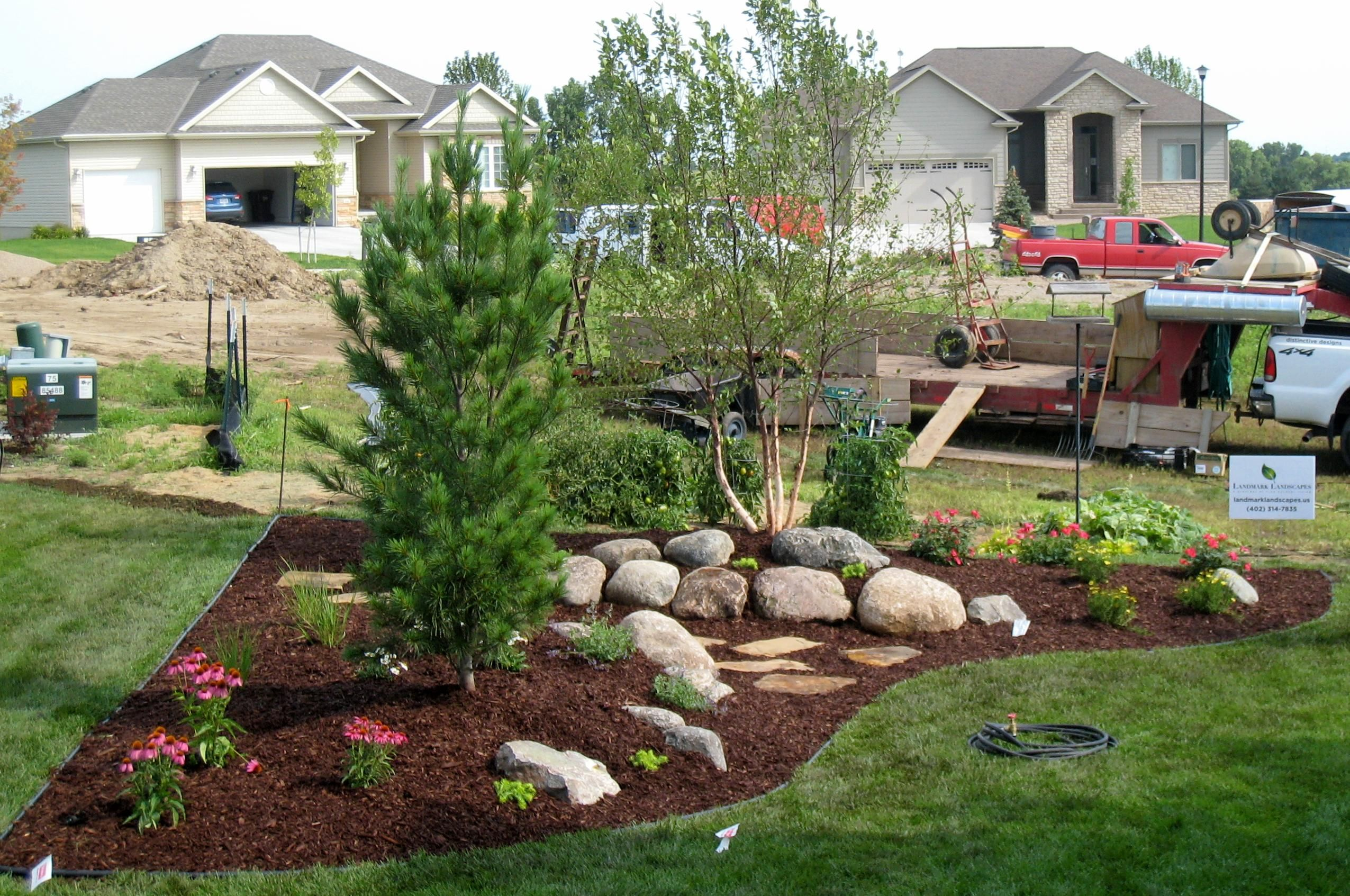 landscaping with grasses and perennials