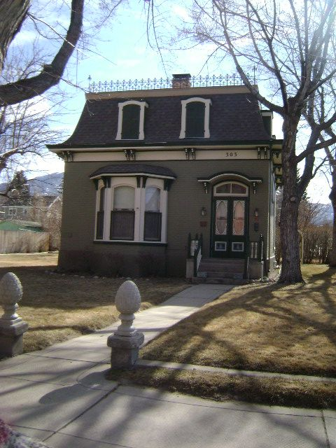 Salida house second empire with mansard roof historic for French mansard house plans