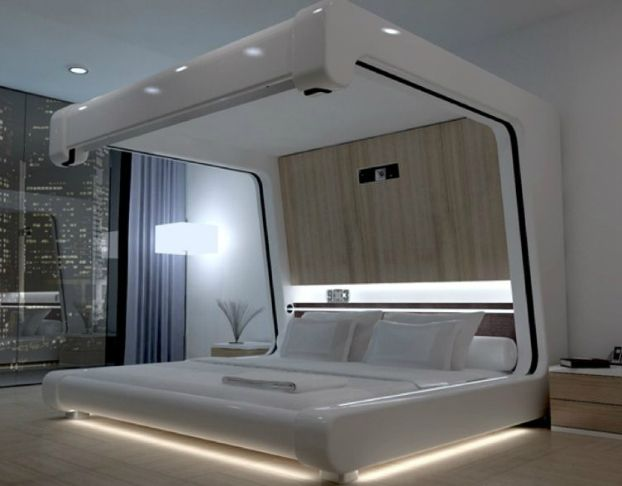 Imagine A Different Life For Yourself And Your House With This Photo Of  This Luxury Bedroom.