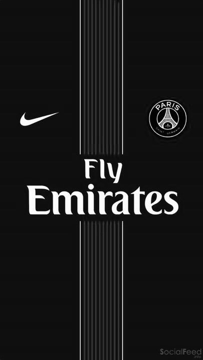 fond d233cran psg 2016 2017 nike fly emirates iphone