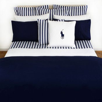 Ralph Lauren Home Collection Bedding Cushions Tableware Bedroom Set Navy Duvet Covers Bedding Sets
