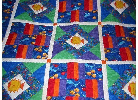 Fun Fishy quilt