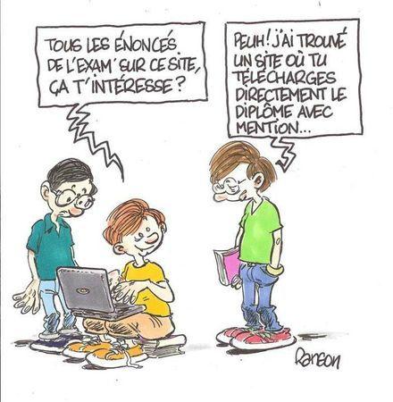 Frances De 2º De Bachillerato B1 Le Baccalaureat Francais Baccalaureat Humour Humour Politique
