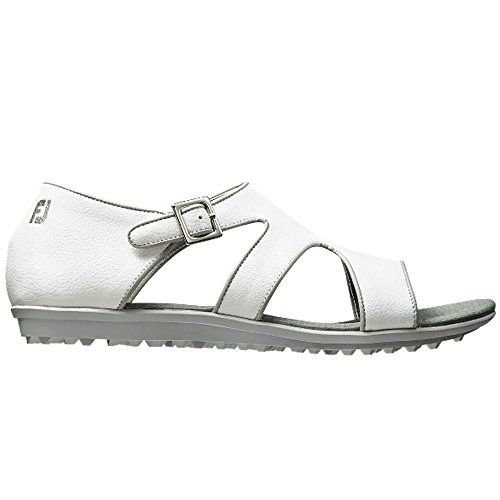 8ef9f5bde Footjoy Women s Shoes Naples Spikeless Golf Sandal 5 M White     Click  image to review more details.