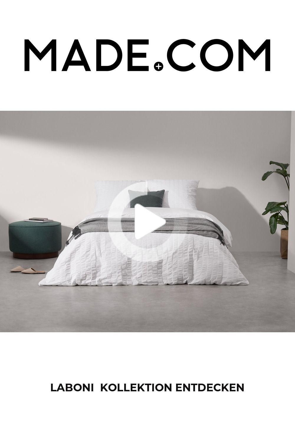 Made Bedding Set Blue In 2020 100 Cotton Duvet Covers