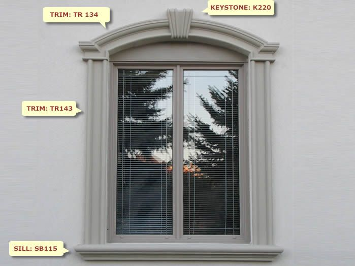 Stucco Stucco Trim Stucco Cornice And Sill At Prime Mouldings