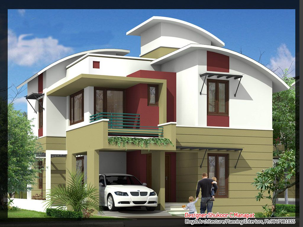 Modern contemporary house plans kerala