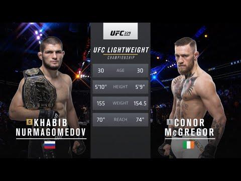 Free Fight Khabib Nurmagomedov Vs Conor Mcgregor Ufc 229 2018 Youtube In 2020 Ufc Luke Rockhold Ufc Fight Night