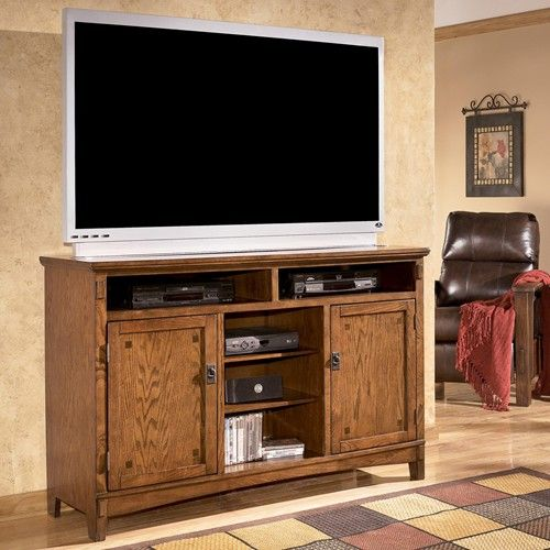 Ashley Furniture Cross Island Oversized TV Stand