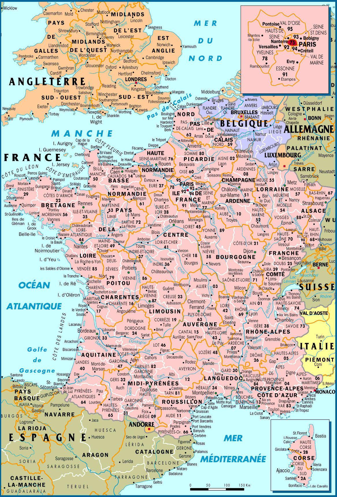Carte De France Mit Bildern
