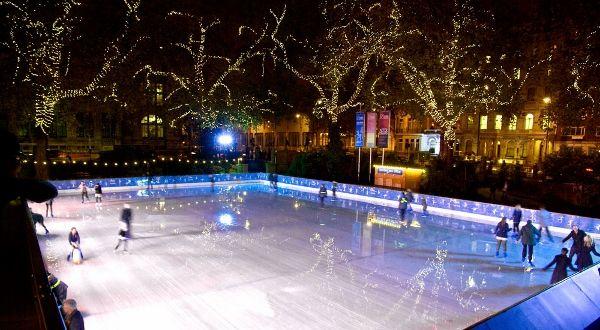 Ice skating natural history