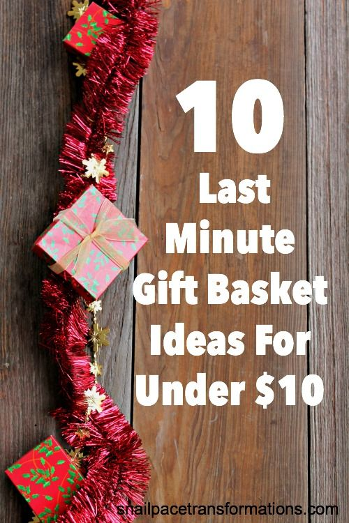 10 Last Minute Christmas Gift Basket Ideas For Under Great All Ages