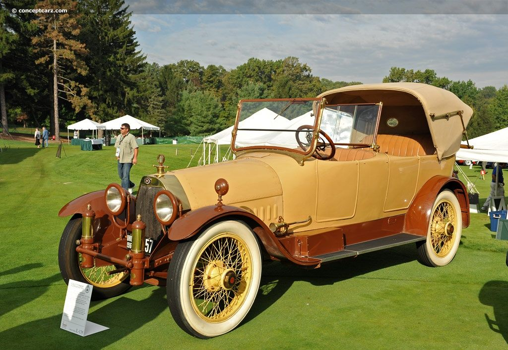 1916 Owen Magnetic Model O-36 looks like a duel-cowl phaeton. These ...
