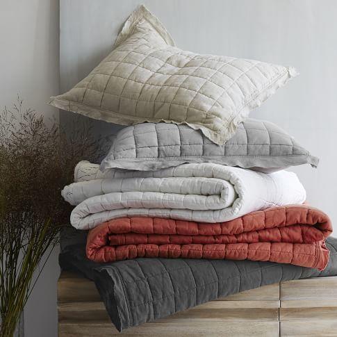 Modern Quilts Bed Quilts Quilt Bedding Bed Blankets West Elm Belgian Linen Shams For Trundle Bed Linen Quilt Quilt Bedding Quilted Sham