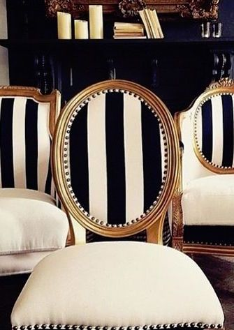 Striped Upholstery Dining Room Chairs Upholstered Chairs White Dining Room