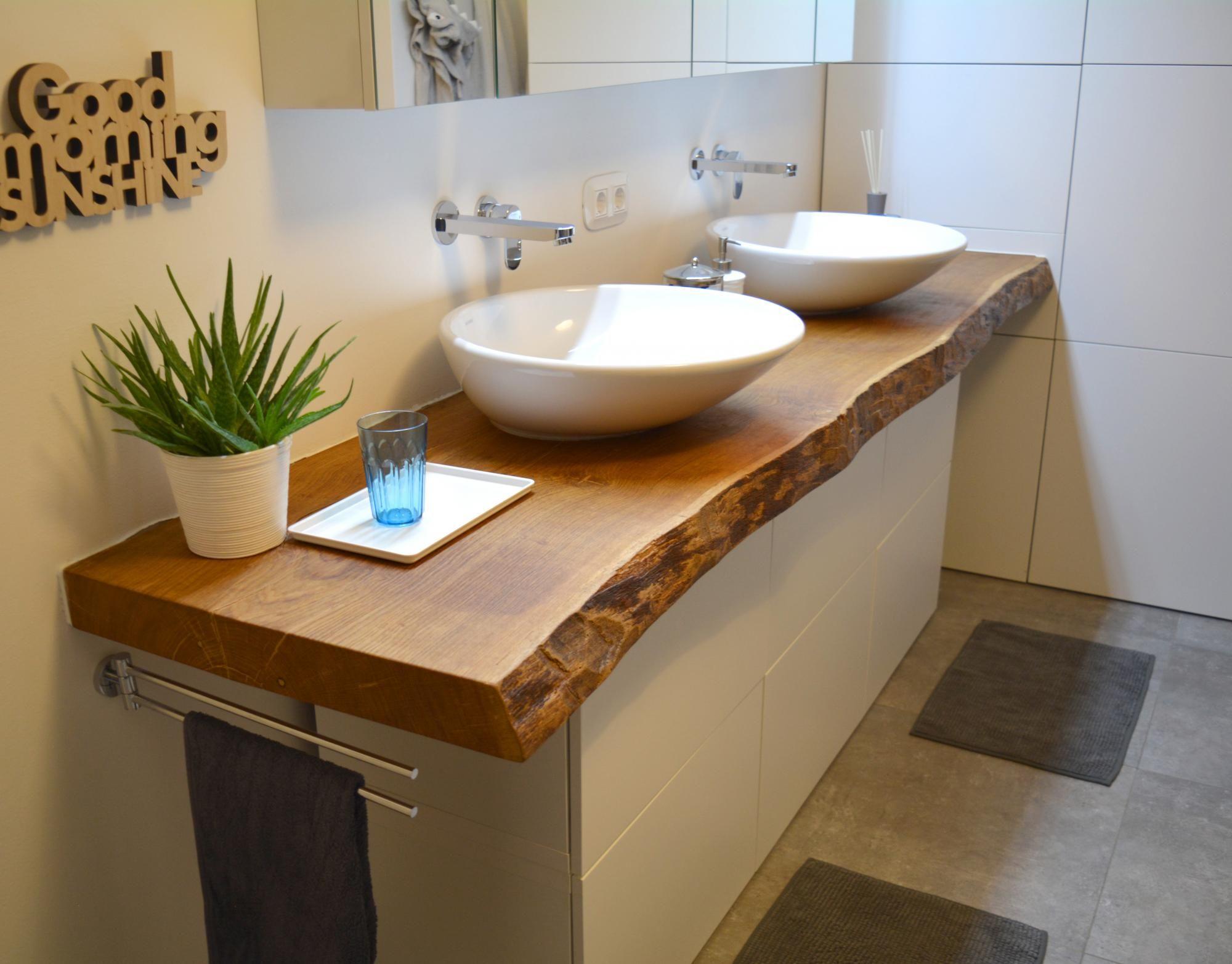 Waschtisch Aus Massivholz Das Highlight In Ihrem Badezimmer Holzwunder Waschtisch Holz Badezimmer Badezimmer Badezimmer Holz