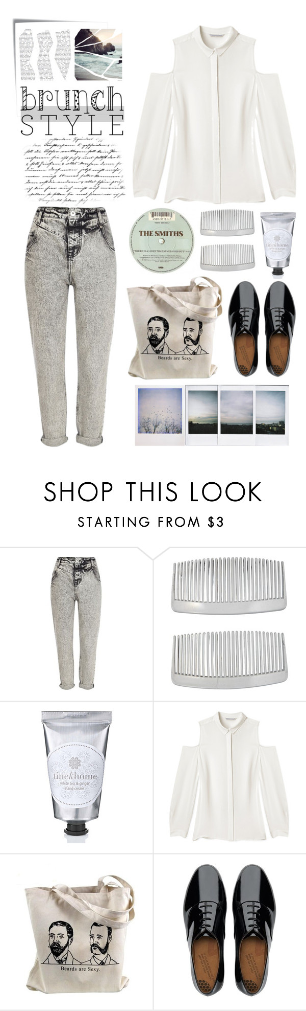 """#441"" by milicamonaj ❤ liked on Polyvore featuring Post-It, River Island, John Lewis, Rebecca Minkoff, FitFlop and Polaroid"