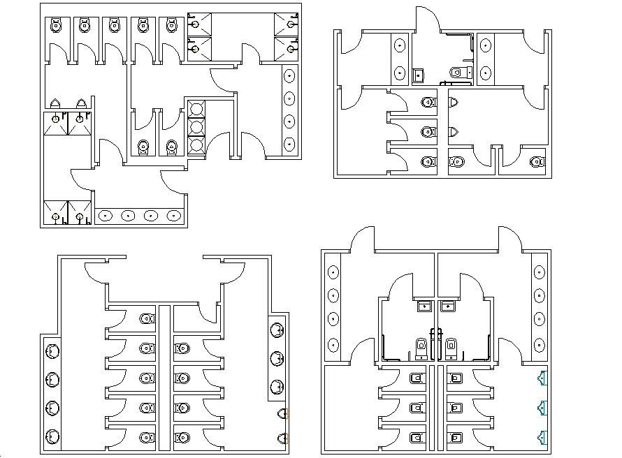 Public Toilets Layout Plan Dwg File Cadbull Public Toilets Layout Plan Dwg File Cadbull Public To Toilet Plan Public Restroom Design Bathroom Design Plans