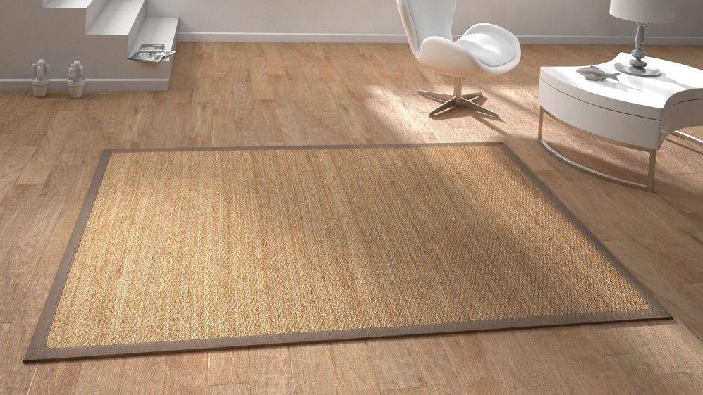 tapis contemporain 39 jonc de mer 39 saint maclou d co. Black Bedroom Furniture Sets. Home Design Ideas
