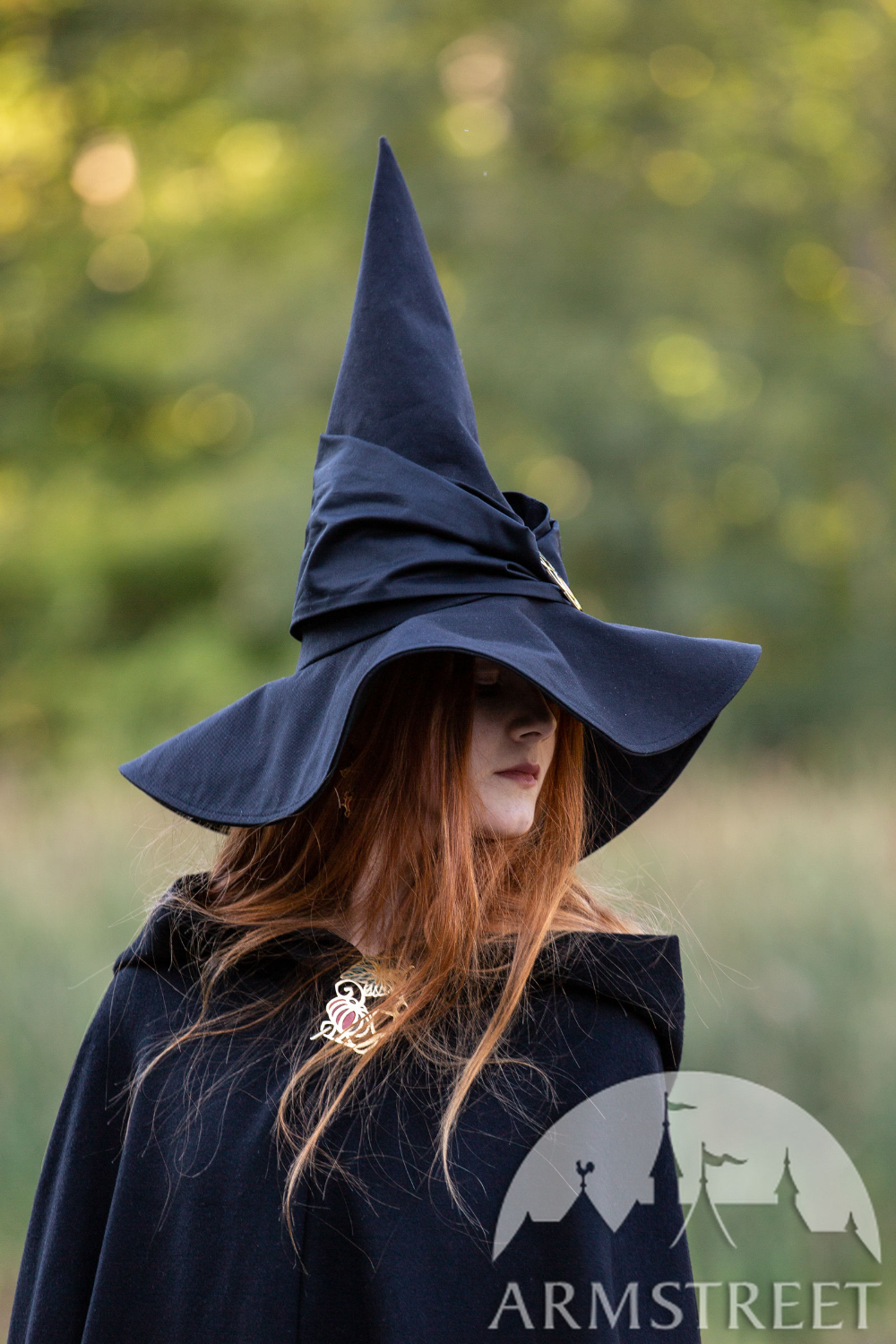 Cotton Witch S Hat Halloween Edition Witch Outfit Pagan Fashion Vintage Halloween Costume