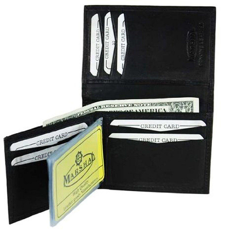 Lionpapa Mens Slim Bifold Front Pocket Wallet Leather Spring Loaded Money Clip