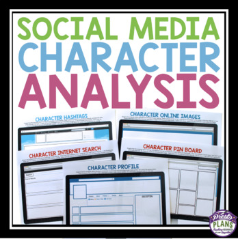 Character analysis social media assignments Social media site - character analysis