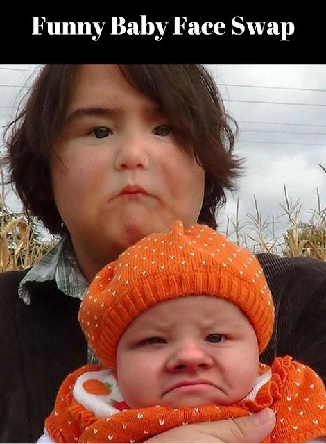 Funny Baby Face Swap | Funny baby faces, Funny face swap ...
