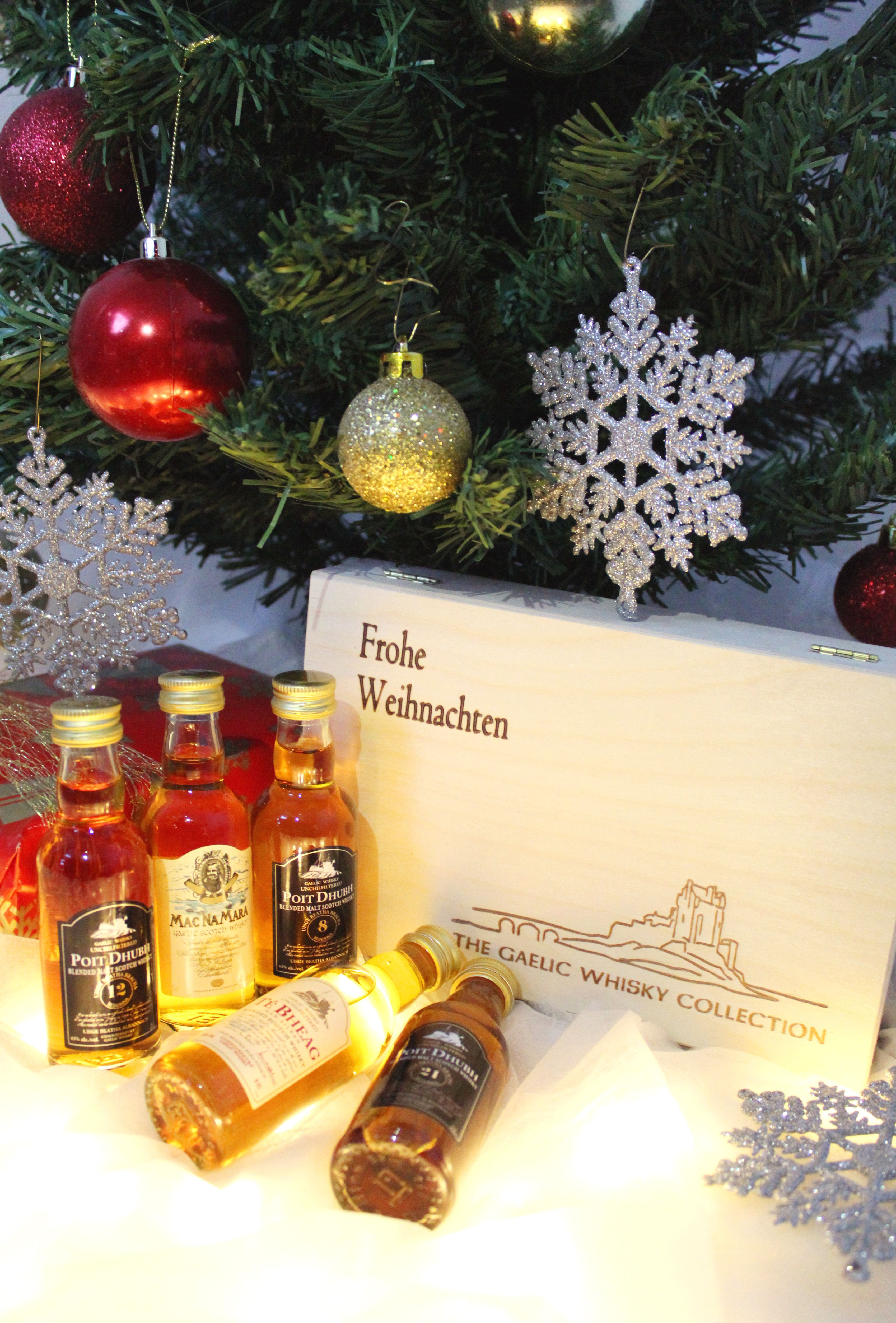 Papa bekommt dieses Jahr eine Top Whisky-Auswahl zu Weihnachten. Mit ...