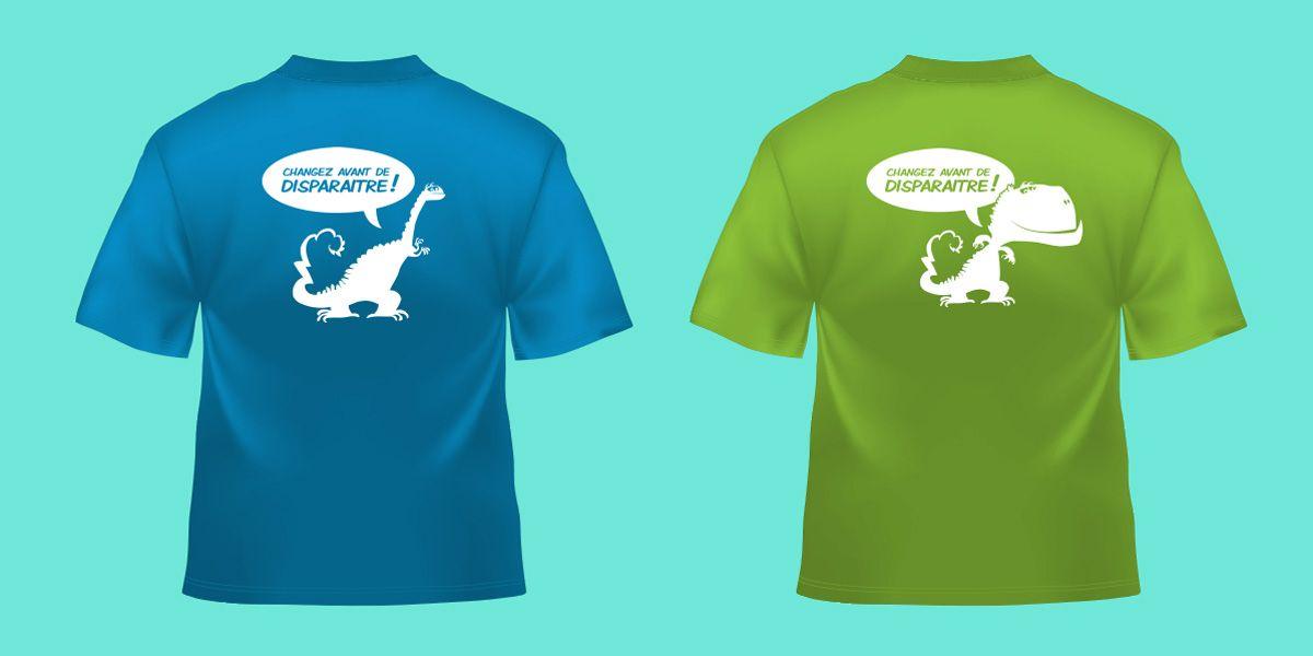 Portfolio | Élephant Com and Events Impression t-shirt http://groupe-elephant.fr/