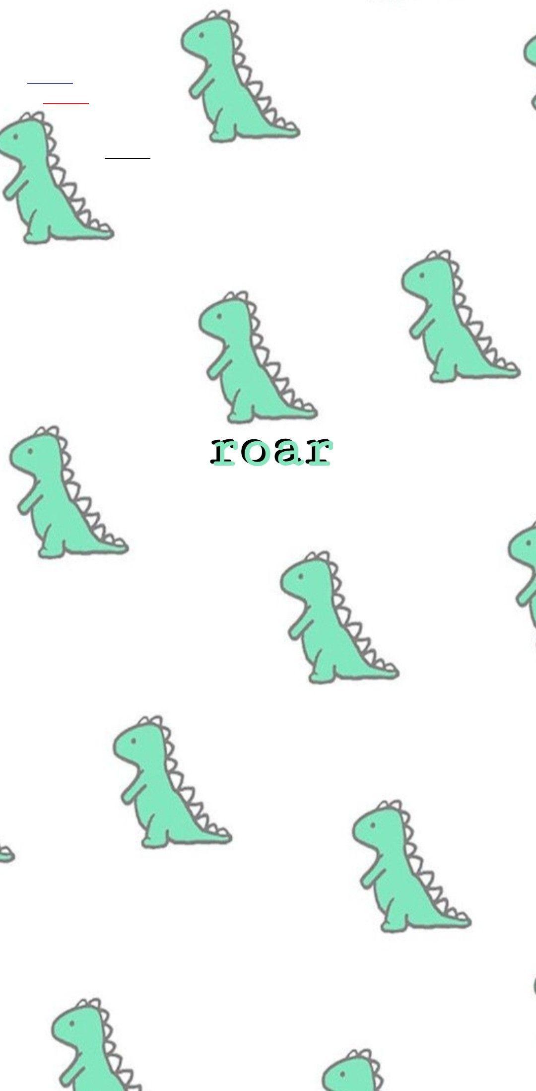 Cute Dinosaur Phone Wallpaper Vscohintergrundbilder Kawaii Wallpaper Dinosaur Wallpaper Kawaii Dinosaur