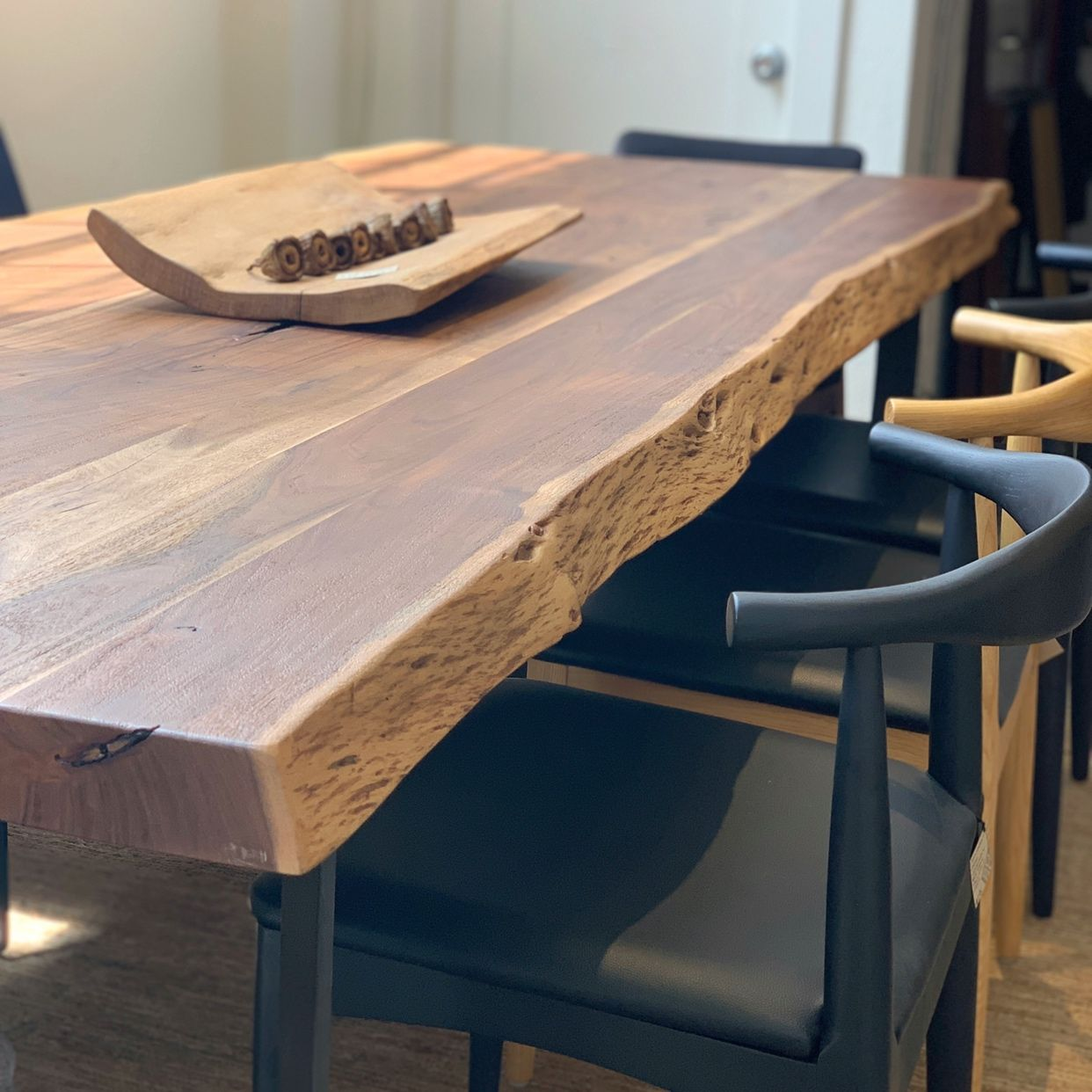Leviathan Dining Table Live Edge Dining Table Live Edge Table