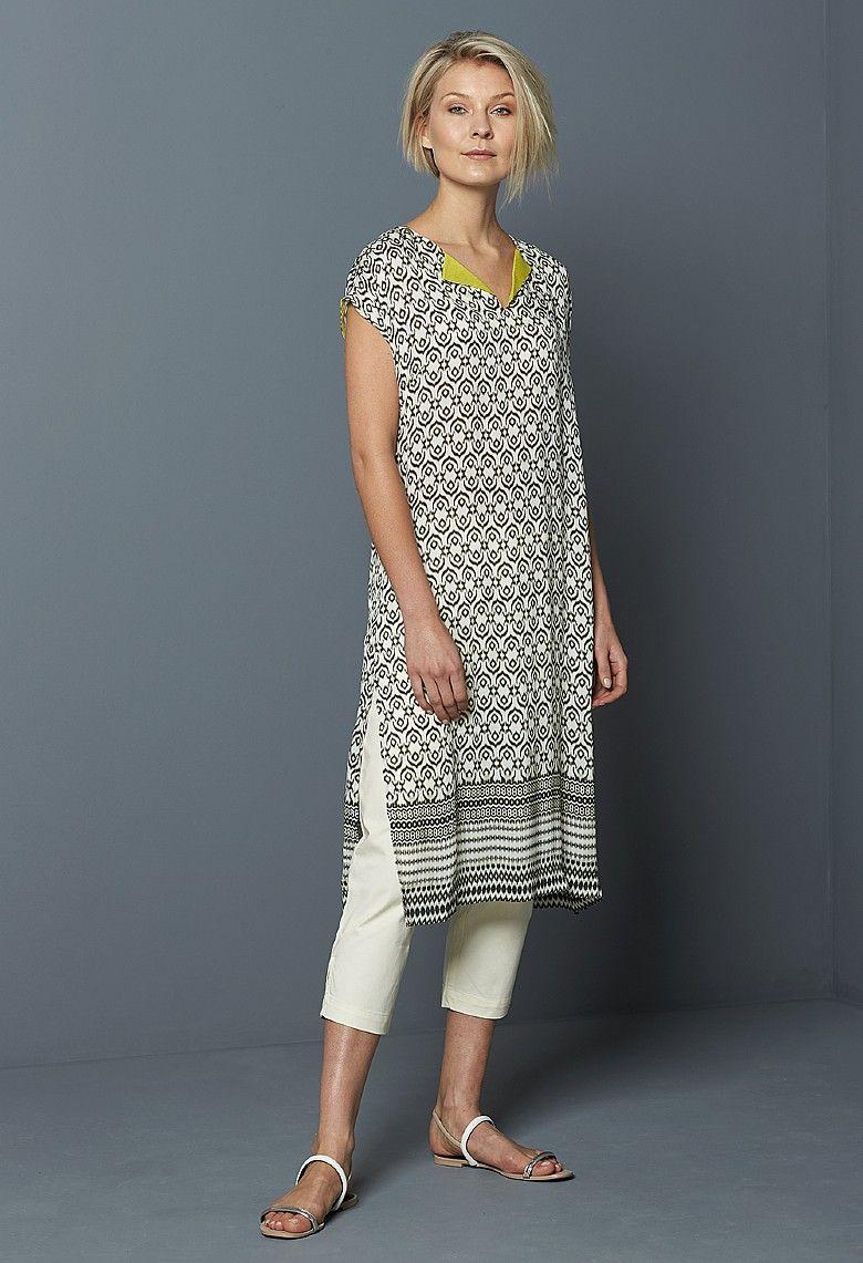 30977628a1e Ikat Border Print Erin Tunic Dress
