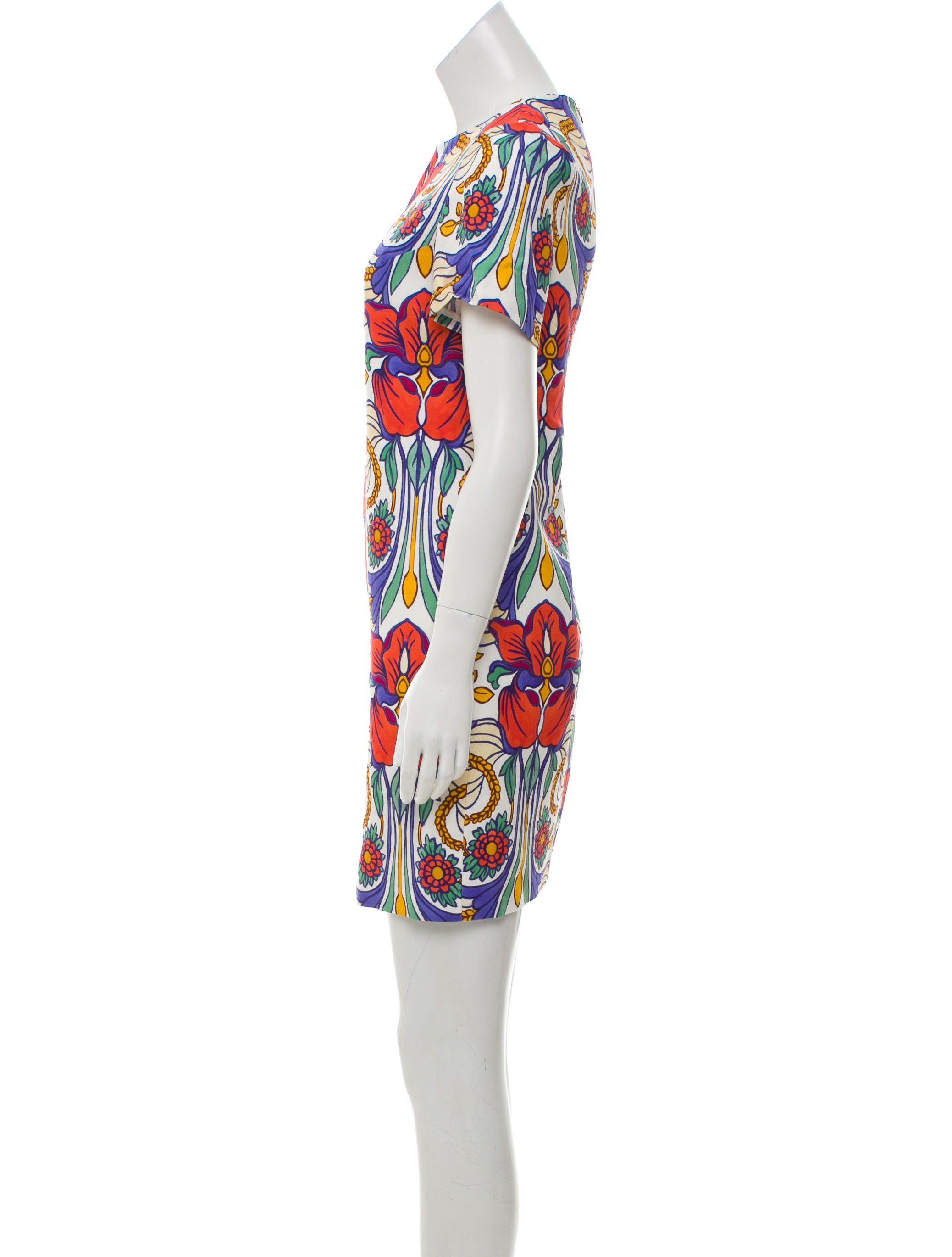 38b5162cf9e Rimondi mini dress with floral print throughout