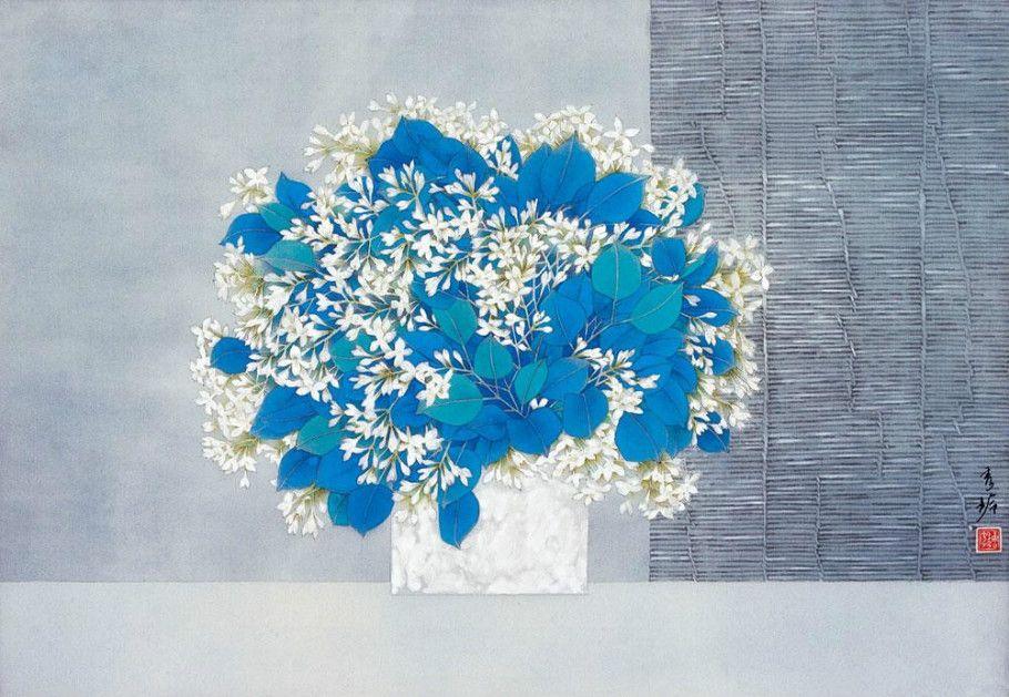Tang Xiuling Chinese Gongbi Painting 唐秀玲工笔画
