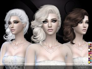 Stealthic's Sims 4 Downloads COIFFURE SIMS4 Cheveux