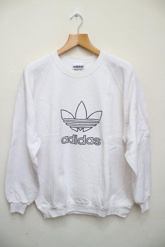 9ba3bc93187a5 Vintage ADIDAS Three Stripes Big Logo Big Spell Sportswear ...